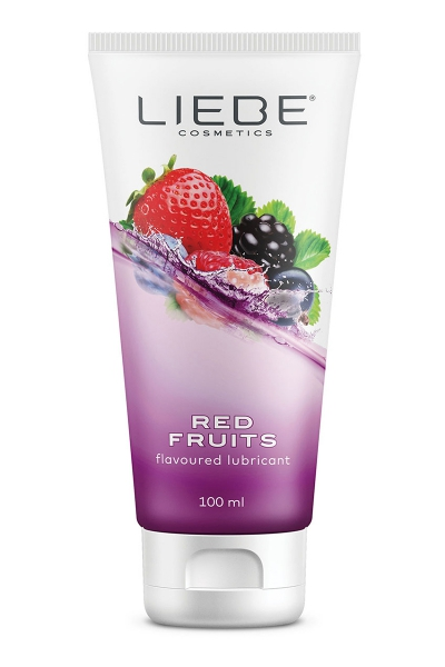 Lubrifiant parfumé fruits rouges 100 ml